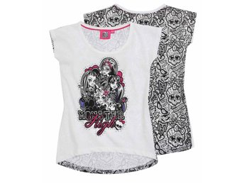 Monster High vit mönstrad top 152 cl