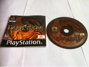 PS1: Darkstone/Dark Stone (Skivan+Manualen)