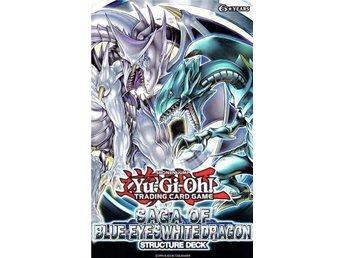 3st Yu-Gi-Oh! Saga of Blue-Eyes White Dragon Decks, Nya oöppnade! - Vindeln - 3st Yu-Gi-Oh! Saga of Blue-Eyes White Dragon Decks, Nya oöppnade! - Vindeln