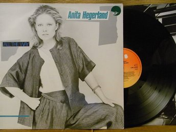 LP Anita Hegerland All The Way VINYL EX!