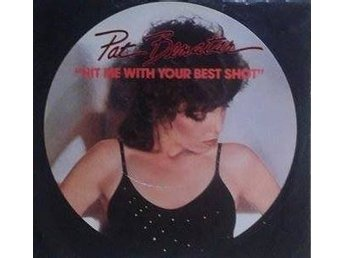 "Pat Benatar title* Hit Me With Your Best Shot * Pop Rock 7"" US - Hägersten - Pat Benatar title* Hit Me With Your Best Shot * Pop Rock 7"" US - Hägersten"