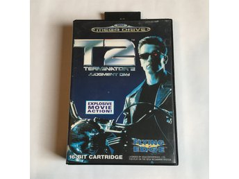 T2 Terminator 2 Judgment Day - SEGA MEGA DRIVE