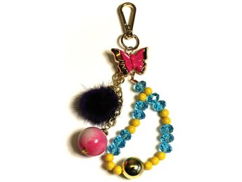 Dammodell Lovely Dog Bag Charms Ladies Handväska Charm Nyckeln Ny Style