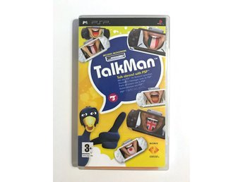Talk Man, med mikrofon – spel till Playstation Portable, PSP