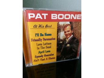 PAT BOONE - At His Best - Best Of CD CD