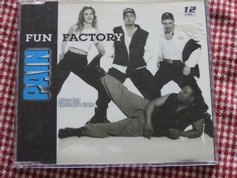 Fun Factory -  Pain CD Single 1995