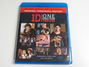 1D: ONE DIRECTION - THIS IS US (Blu-ray)