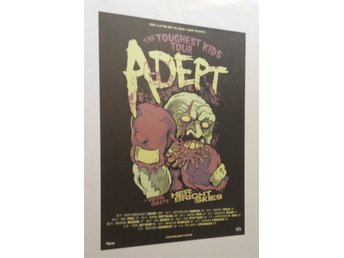 Adept - The Toughest Kids Tour 2010 - Poster - 50x70cm