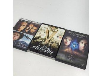 Javascript är inaktiverat. - Stockholm - DVD-Filmer, Modell: 3stVaran är i normalt begagnat skick. Skick: Varan säljs i befintligt skick och endast det som syns på bilderna ingår om ej annat anges. Vi värderar samtliga varor och ger dom en beskrivning av skicket. Defekter: Skull - Stockholm