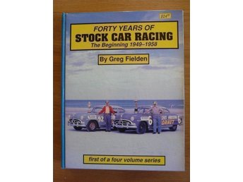 Forty Years of Stock Car Racing, By Greg Fielden, Alla fyra böcker
