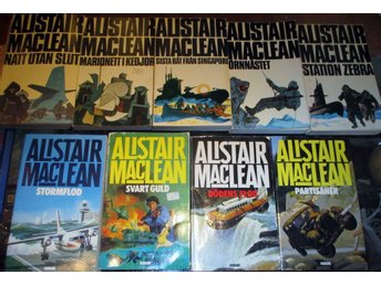 9 böcker av Alistair MacLean