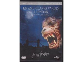 DVD   EN AMERIKANSK VARULV I LONDON   Jenny Agutter   Skräck Thriller Komedi 9ff88c57e04bb