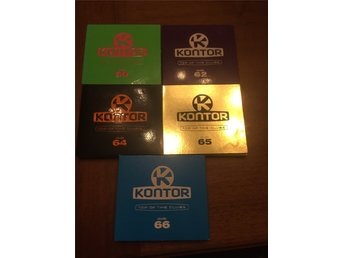 Kontor - top of the clubs 5st album vol.60 vol.62 vol.64 vol.65 vol.66