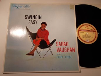 SARAH VAUGHAN - Swingin' Easy, LP RE Emarcy Holland 1992