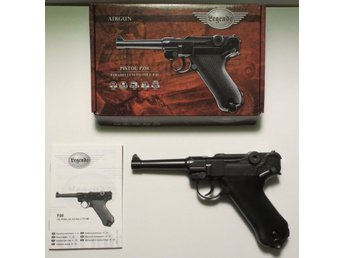 CO2-PISTOL UMAREX LEGENDS P.08 MED 20 ST CO2-PATRONER