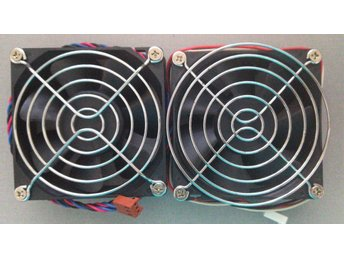 2 * 80mm Fan with protection