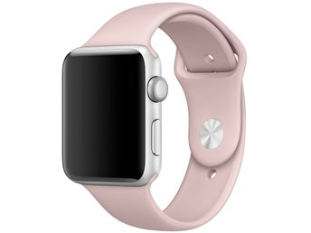 Silicon Band 42/44mm Apple Watch Armband - (PINK SAND)