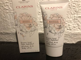 Clarins moisture rich body lotion Magnolia 75ml NY!