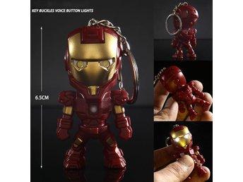 Iron-Man Iron Man med ljus och ljud nyckelring nyckel - Hong Kong - Iron-Man Iron Man med ljus och ljud nyckelring nyckel - Hong Kong