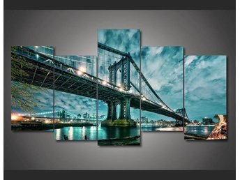 Canvas tavla 5 delad New York