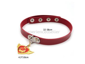 SAILOR MOON CHOKER HALSBAND - Röd Red Cosplay Smycke Anime Manga