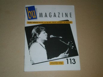 Beatles Unlimited #113 (Januari / Februari 1994) - Fint Skick!