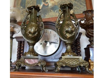 BEAUTIFUL COUPLE ADAPTERS FOR CLOCK 1800-1900