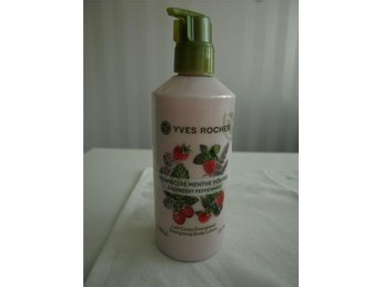 NY! Yves Rocher bodylotion hallon pepparmint raspberry body lotion hudkräm