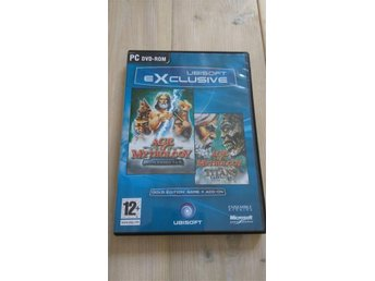 Age of Mythology + expansionen Titans, PC-spel