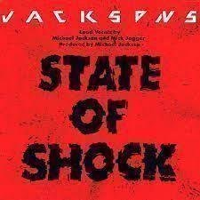 "LP-singel The Jackson's ""State of shock"""
