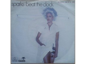"Sparks title* Beat The Clock*Synth-pop, Disco, New Wave 7"" Germany"