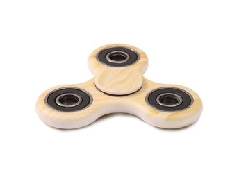 Wood Grain Stress Relief Toy Fidget Spinner