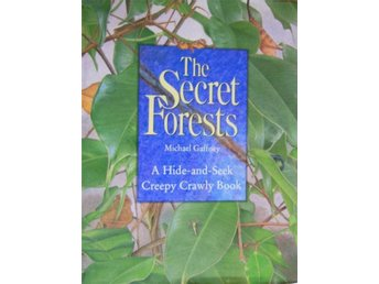 The Secret Forest, A Hide-and-Seek Creepy Crawly Book, INSEKTER