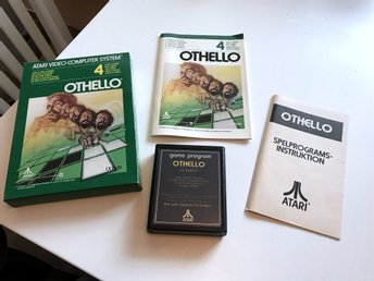 ATARI 2600 - Othello CX2639 Inkl låda & manualer