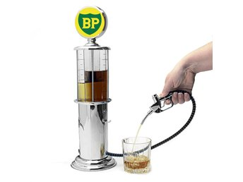 Bardispenser/Bensinpump, BP