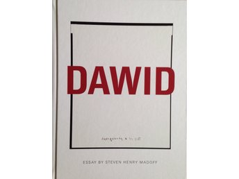 Dawid : this is a photograph  / essay by Steven Henry Madoff - fotokonst foto