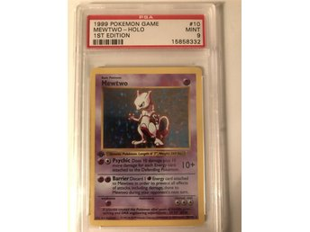 Mewtwo 1st Ed. Shadowless PSA 9