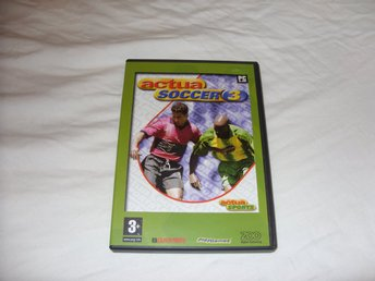 Actua Soccer 3 PC CD ROM Soccer Sport Game retro fotbolls spel