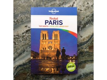 Lonely Planet reseguide pocket Paris