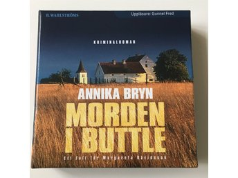 Cd ljudbok Annika Bryn Morden i Buttle
