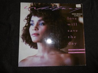 "Whitney Houston - Love will save the day - Ger 12"" - 1988"
