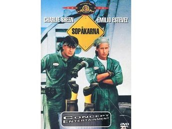 Sopåkarna / Men At Work, Charlie Sheen (Nytt) DVD