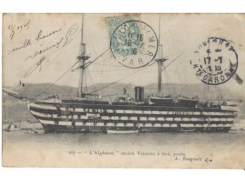 "French  School  Ship "" ALGESIRAS """