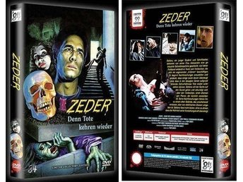 Zeder (Lmtd Big Hardbox 99 ex!) Revenge of the Dead (Pupi Avati) OOP Cover A
