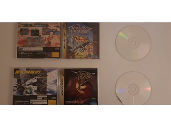 Virtua Cop 1 & 2 and Panzer Dragon 1 & 2 Sega Saturn Japan