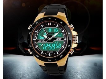 "SKMEI Sports LED Watch ""Gold"""