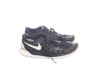 best service 9dcaf 3b127 Nike, Träningsskor, Strl  42, Nike Free 5.0, Svart Vit