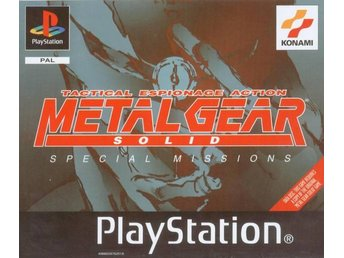 Metal Gear Solid VR Special Missions  - Playstation