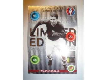 Panini Adrenalyn XL EURO 2016 - Limited Edition - FERENC PUSKAS - Ungern