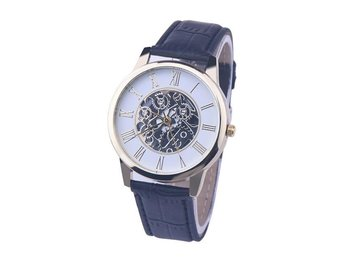 Fin Klocka / Armbandsur - Romerska Siffror - Svart - Nasugbu - Fin Klocka / Armbandsur - Romerska Siffror - Svart - Nasugbu